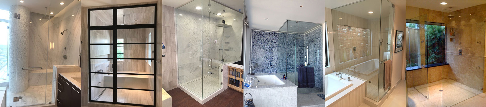 Glass Shower Doors / Enclosures
